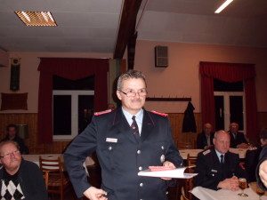 Ortsbrandmeister Thomas Hahne
