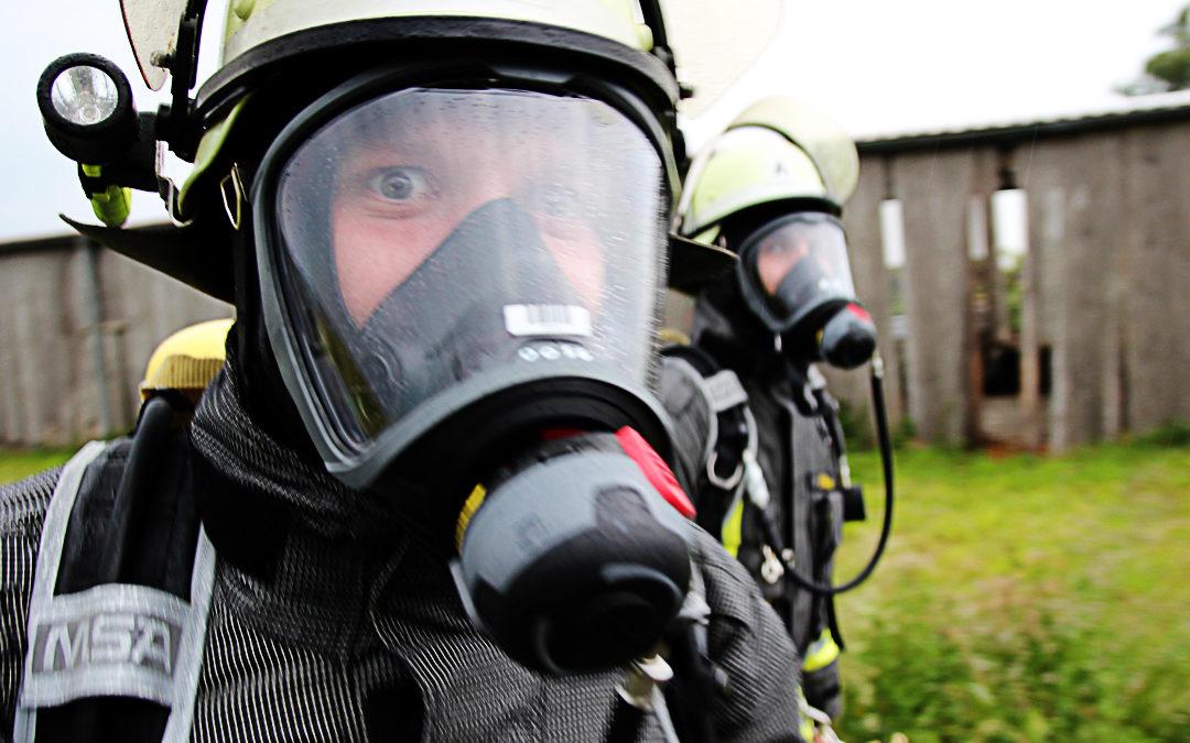 Einweisung auf neue Atemschutzgeräte